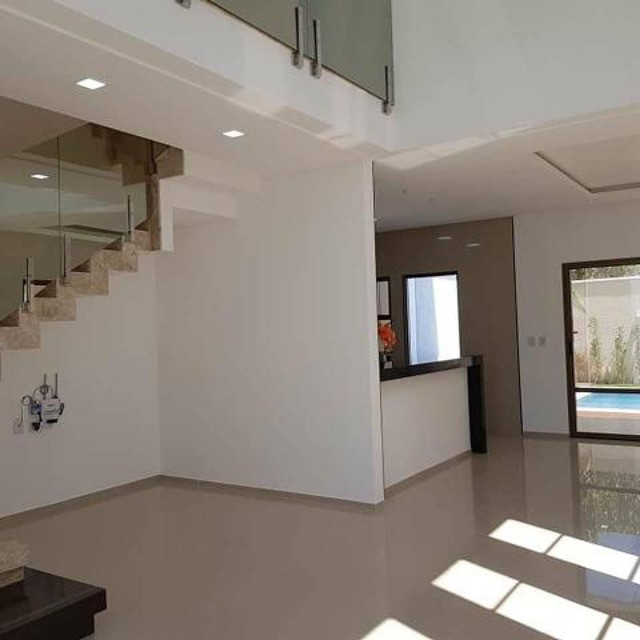 Casa com piscina em rua privativa, casa nova nunca habitada #ce11 - Foto 7