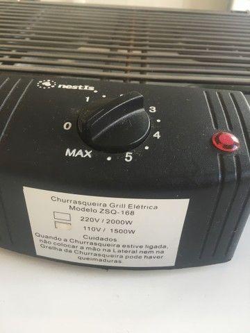 Churrasqueira elétrica 110v  - Foto 2