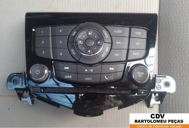 Painel Controle Botão Comando Radio Cruze 2012 Original