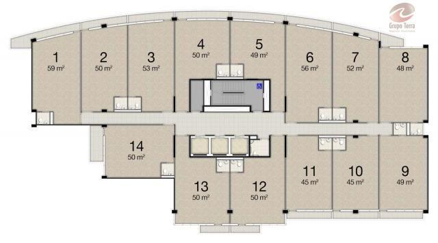 Sala à venda, 50 m² por R$ 283.000,00 - Jardim Aquarius - São José dos Campos/SP - Foto 6