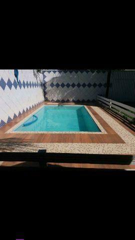 Casa temporad com piscina Praia do Morro Guarapari
