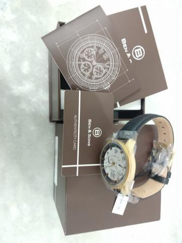 8c46d291dc2 Relógio Ben and Sons  original americano - mega promoção - modelo  bns10010an02s