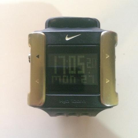 1f2e9dfec3a Relógios Nike  Heritage WC0053 Cage Gold e Silver Wc-0071