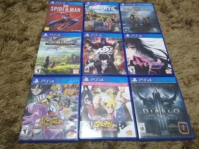 Jogos pkg PS4 5 05 entrega gratuita 2bis76v - Videogames