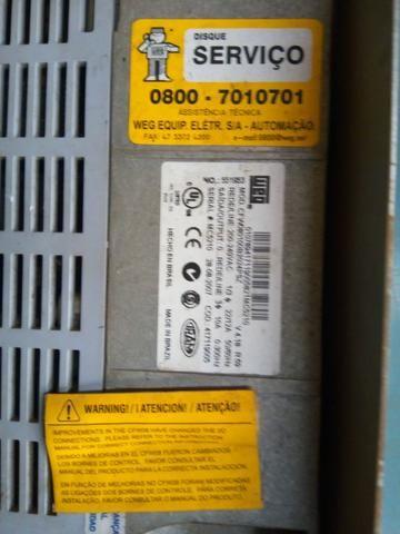 Inversor de frequencia CFW08 10A - Foto 2