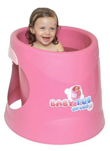 Banheira Babytub Ofurô - De 1 a 4 Anos - Raso - Baby Tub - Foto 2