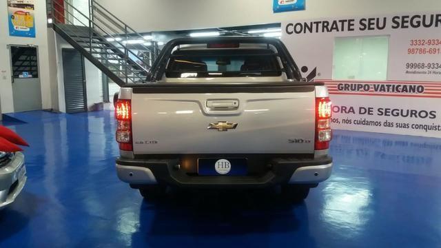 Chevrolet S10 cd 2.8 LT 4x4, MT 2016 prata - Foto 6
