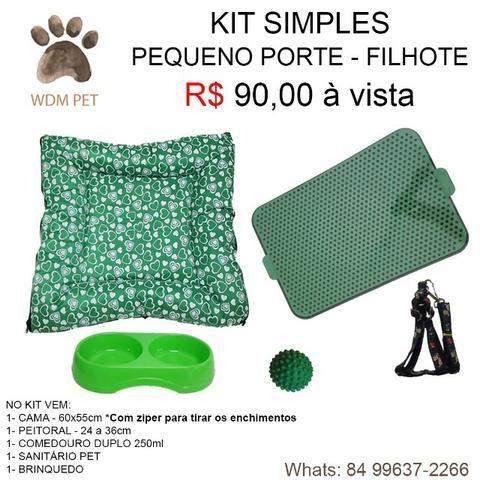 Kit Pata Filhotes - Verde