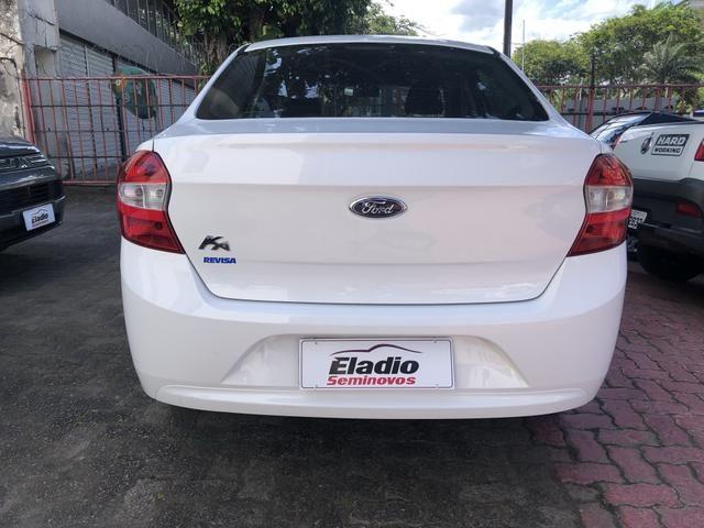 Ka + Sedan 1.5 Flex completo único dono novíssimo - Foto 4
