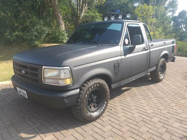Ford f1000 xl turbo 4x4 4.3 (cab simples) 1998 - Foto 3