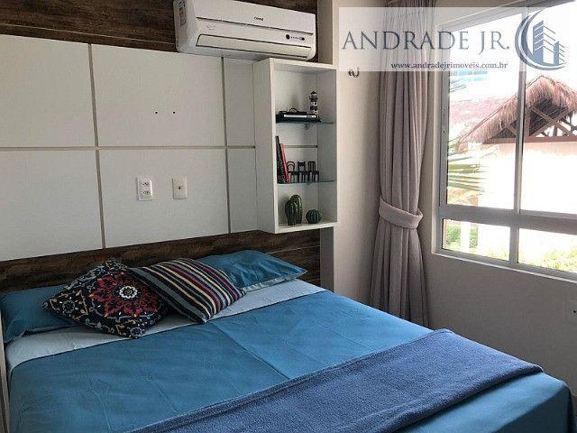Apartamento de praia no Riviera em Aquiraz, com todas as opções de lazer e frente mar - Foto 12