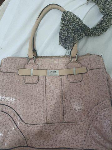 Bolsa rosa original guess