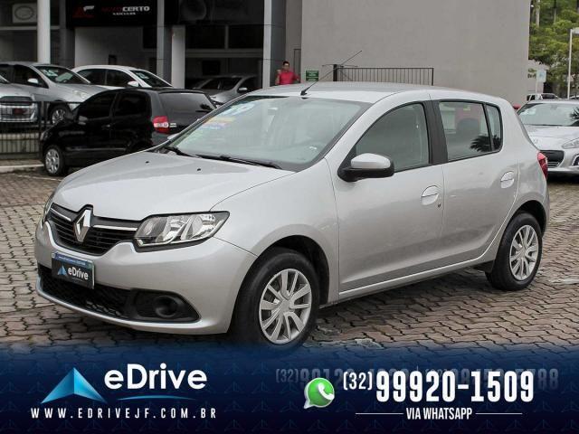 Renault Sandero Expression Flex 1.6 16V 5p - Carro Muito Novo - Lindo - Faço Troca - 2019 - Foto 3