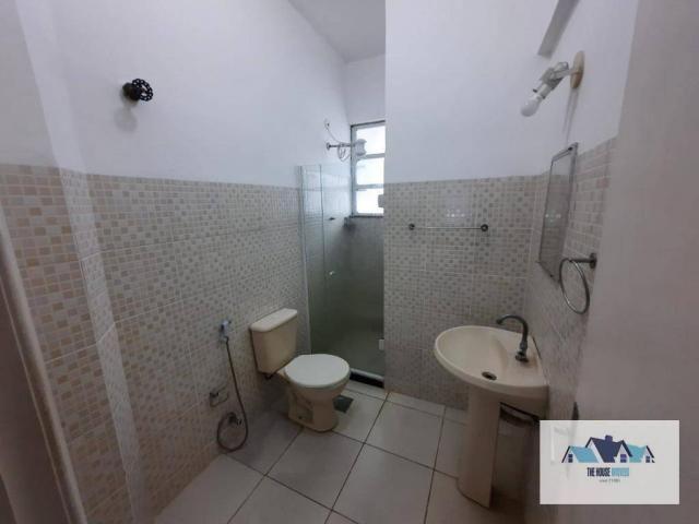 Excelente Apartamento com 1 dormitório 2 banheiros  para alugar, 50 m² por R$ 1.100/mês -  - Foto 13