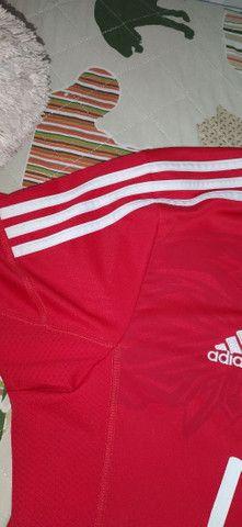 Camiseta Benfica direto de Portugal. Tam G. Excelente estado - Foto 2