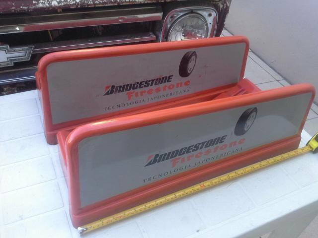 Suportes para pneus caminhão Bridgestone firestone antiguidades decoração