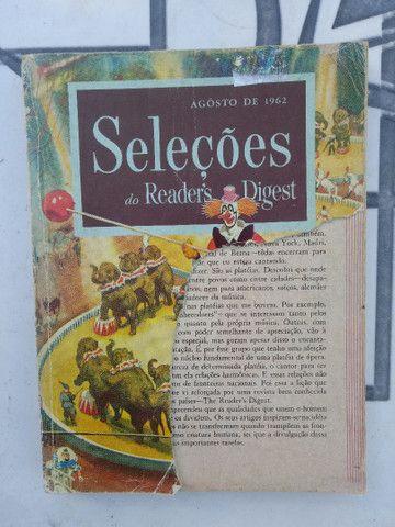 Revistas SELEÇÕES antigas de 1954 à 1971 - Foto 5