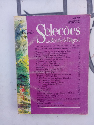 5 revistas SELEÇÕES de 1970. - Foto 4