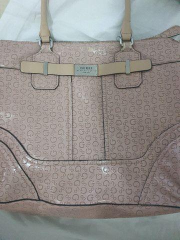 Bolsa rosa original guess - Foto 5