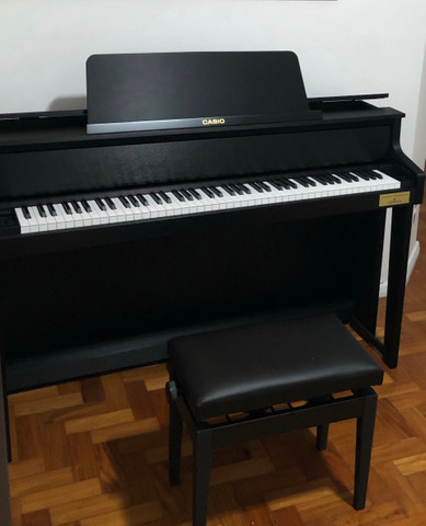 Piano Digital Casio Cleviano Grand Hybrid GP 300