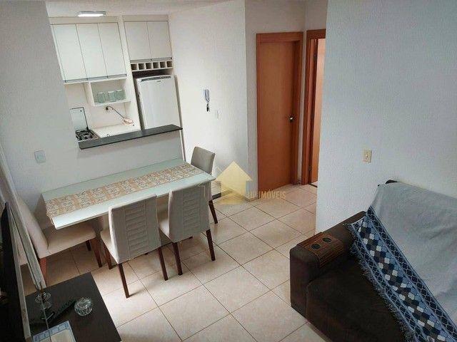 Apartamento com 2 dormitórios à venda, 40 m² por R$ 165.000,00 - Chácara dos Pinheiros - C - Foto 3