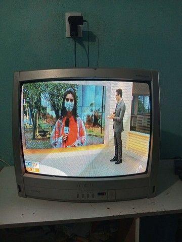 TV 21 pol. Funcionando tudo  - Foto 2