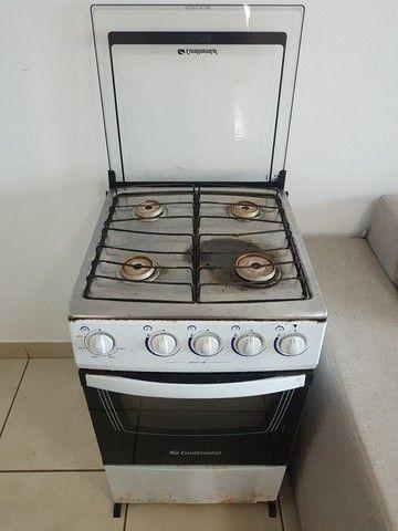 Só funciona 1 boca e o forno. Fogão Continental 4 bocas p concertar. - Foto 2