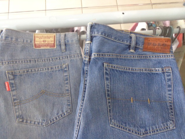 Calça Jeans Diesel Tamanho 54 - Foto 2