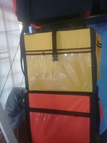 Bags para motoboy delivery com isopor