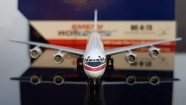 Miniatura avião<br> Emery worldwide <br>escala 1.400 gemini jets - Foto 5