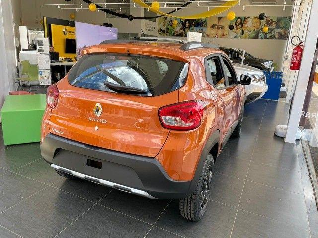 Renault kwid 21/22- Outsider- R$ 56.990,00 - 0 Km!!! Emplacado!!! - Foto 3