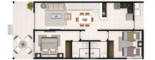 Casa em condomínio fechado 03 Quartos 105m² - Village Praia dos Carneiros - Foto 14