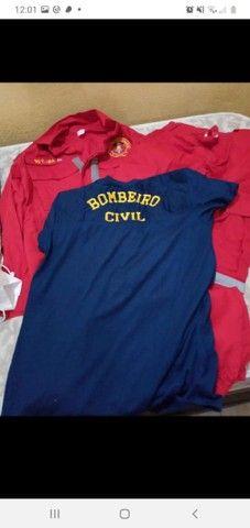 Fardamento BOMBEIRO CIVIL P Completo - Foto 3