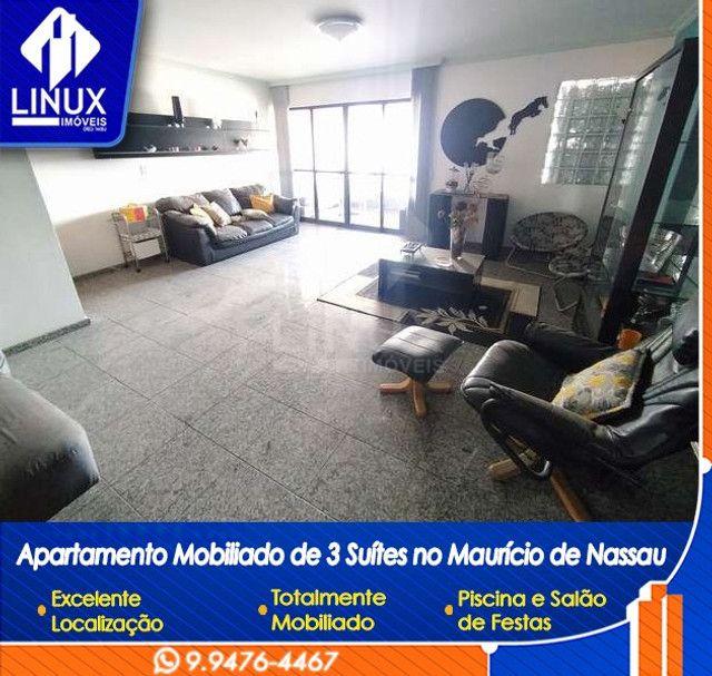 Alugo Apartamento mobiliado de 04 quartos (03 suítes), em Caruaru/PE - Foto 6