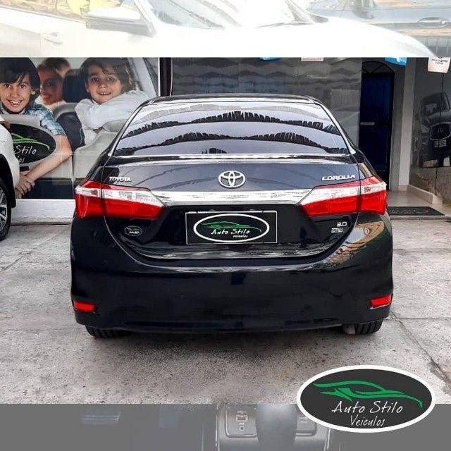 Toyota Corolla  2.0 2014/2015 Preto Completo  - Foto 10