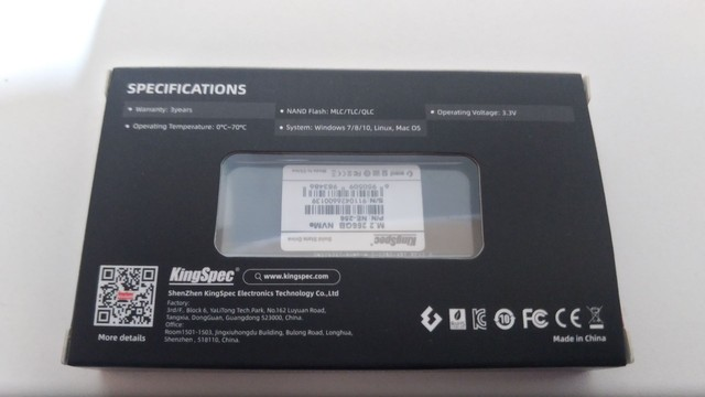 Ssd 256gb m2 NVMe e PCIe - Foto 3