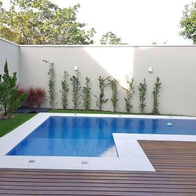 Casa com piscina em rua privativa, casa nova nunca habitada #ce11 - Foto 5