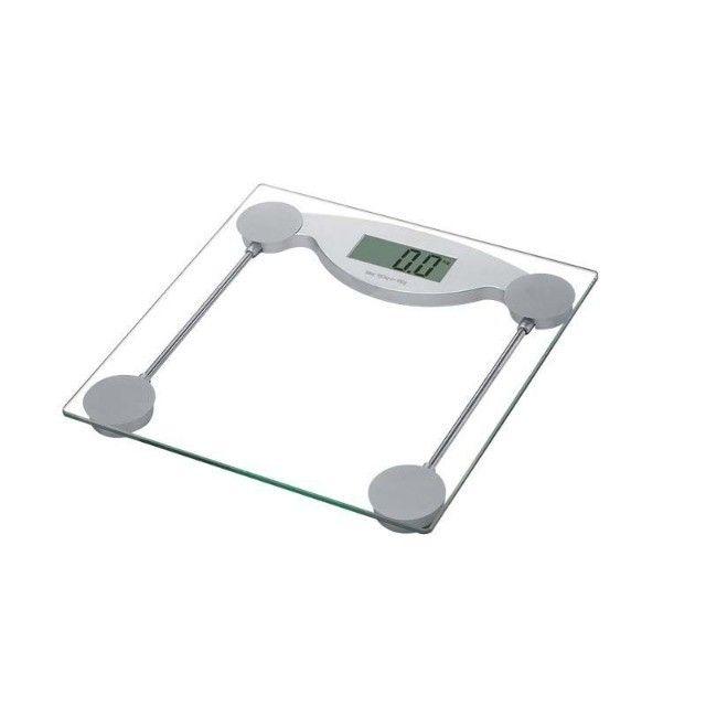 Balança Visor Digital P/ Banheiro Vidro Temperado 150Kg  - Foto 5