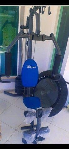 Maquina de academia ( Estação muscular completa ) - Foto 6