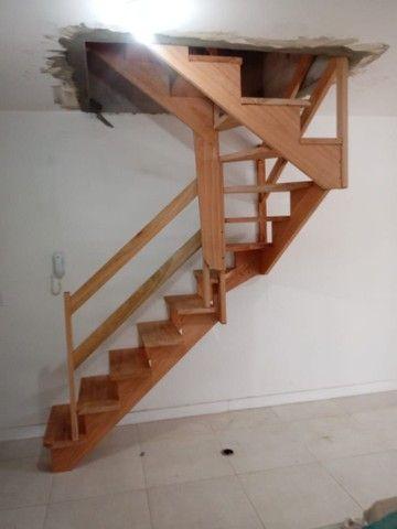 Escadas de madeira nobre  - Foto 2