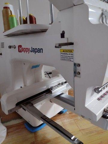 Máquina de bordar Happy Japan,7 agulhas - Foto 3
