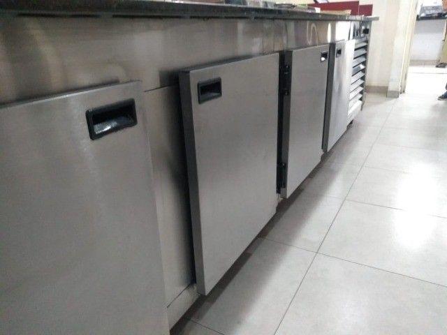 Balcão refrigerado para Montagem de Labches - Foto 2