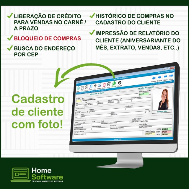 Sistema PDV, Controle Entradas, Estoque, Caixa, etiquetas - Araçatuba   - Foto 3