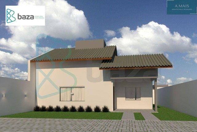 Casa com 2 dormitórios sendo 1 suíte à venda, 74 m² por R$ 230.000 - Jardim Roma - Sinop/M - Foto 2