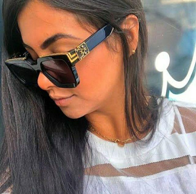 Óculos Louis Vuitton óculos unissex - Foto 4