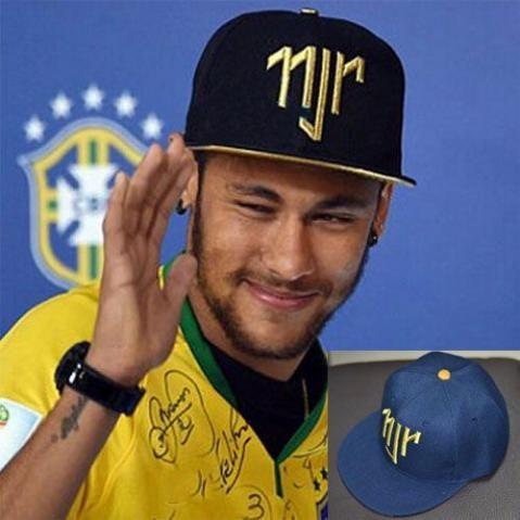 Boné Snapback Neymar Jr Aba Reta Ajustável - Pronta Entrega