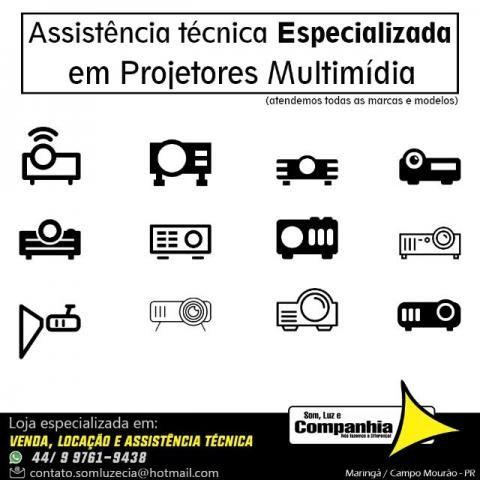 Assistência técnica em Projetor Multimídia datashow de todas marcas - Foto 4