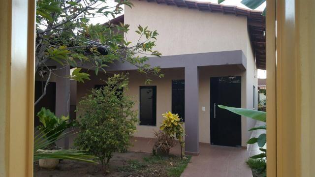 Casa com 3/4 duas suítes - financia Qd 904 sul