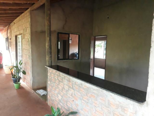 Vendo uma lindíssima chácara e fazemos permuta em casa município de jaraguari.