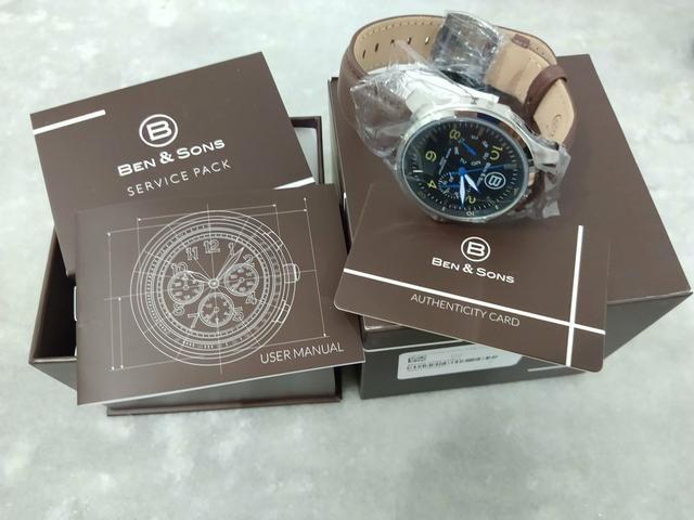 e7709801e4f Relógio Ben And Sons  original americano (mega promoção) modelo bns1001001
